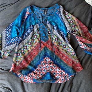 new directions patterned top